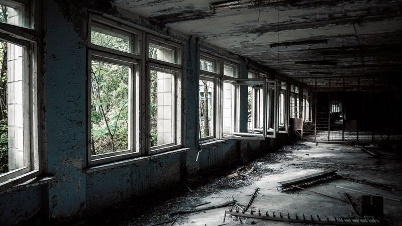 Detailed photos of Chernobyl, Ukraine