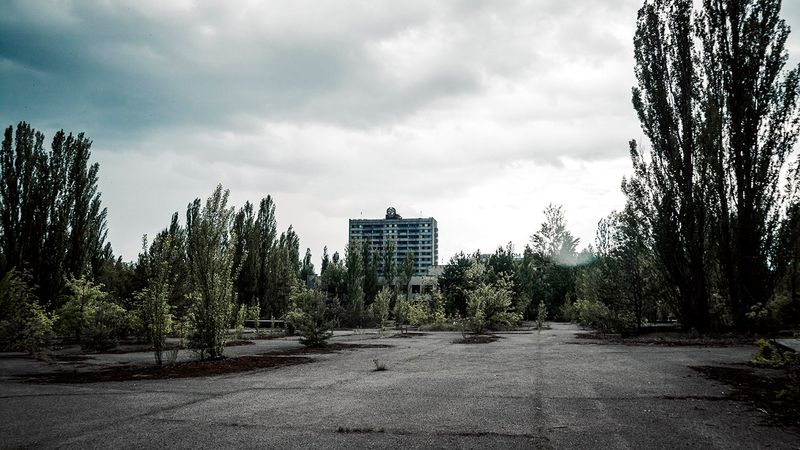 Chernobyl town Pripyat in pictures