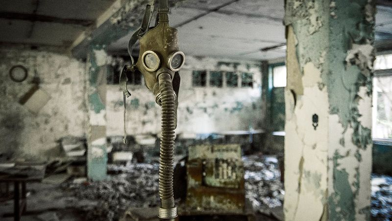 Pripyat on the photos of recent years