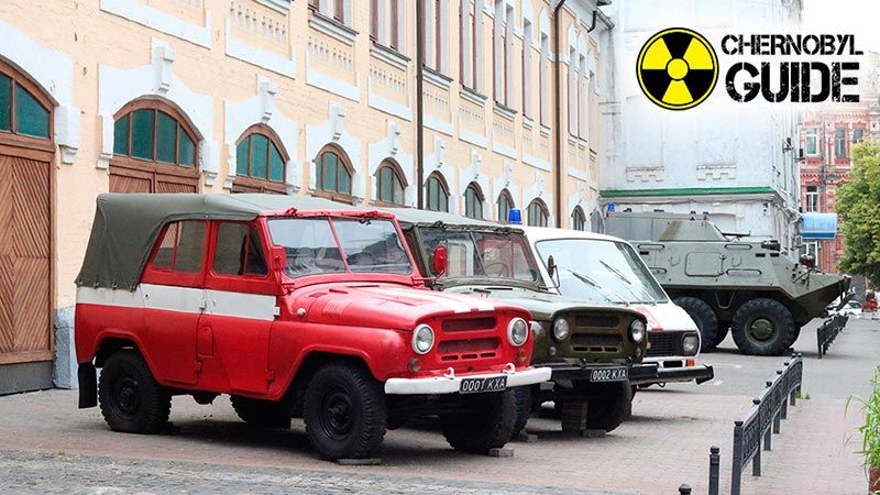 Tourism in Chernobyl, photo