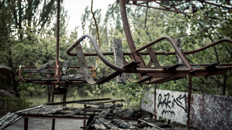Pictures made in Chernobyl