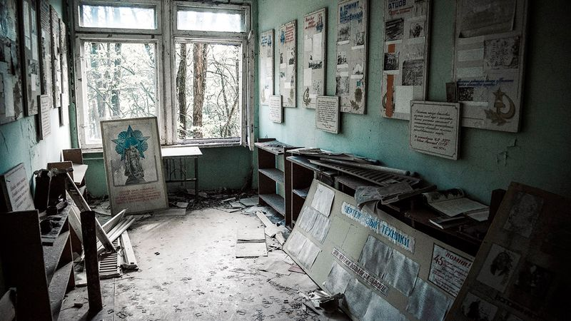 What happened to Pripyat, photos and videos