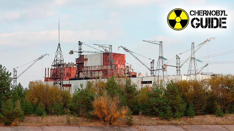 The territory of Chernobyl in the last photo