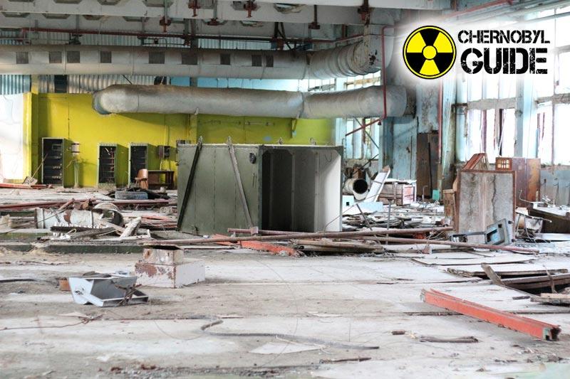 Chernobyl ciudad Pripyat después del desastre nuclear 1986, fotos y video