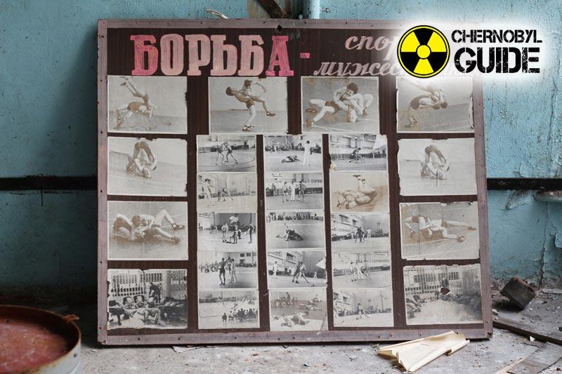 Fotos de Pripyat en Chernobyl después del accidente en el NPP 1986