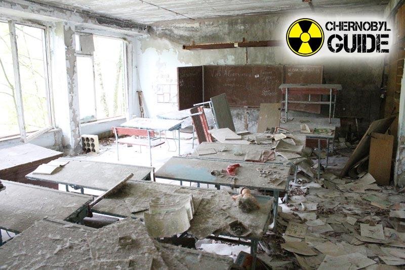Ucraino Cernobyl in immagini, bambini