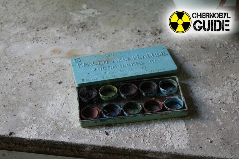 La città di Pripyat ed i suoi bambini sull'ultima foto