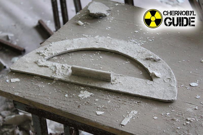 Immagini di bambini ricevuti nella città di Chernobyl di Pripyat