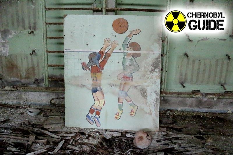 Immagini di bambini di Pripyat dopo l'incidente nel NPP 1986