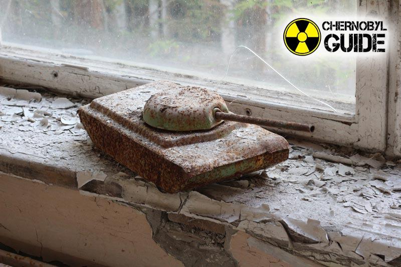 Immagini dettagliate dei bambini della città di Chernobyl di Pripyat, Ucraina
