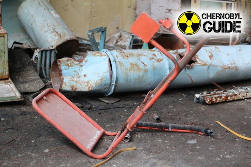Immagini di Chernobyl dopo un incidente in una centrale nucleare locale