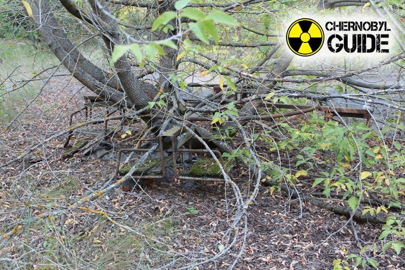 Disastro di Chernobyl del 1986 a Chernobyl in foto