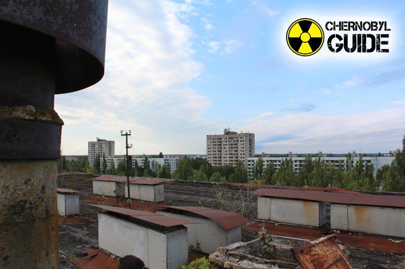 Immagini di Chernobyl dopo l'esplosione della quarta unità di potere delle centrali nucleari