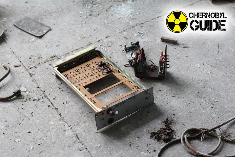 Foto di Chernobyl dopo l'esplosione di una centrale nucleare nel 1986