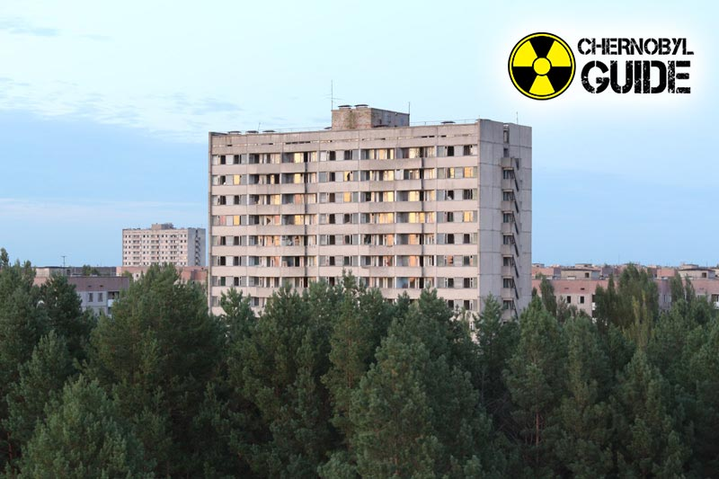 Città di Chernobyl Pripyat in foto e video