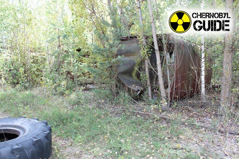 Immagini di Chernobyl oggi