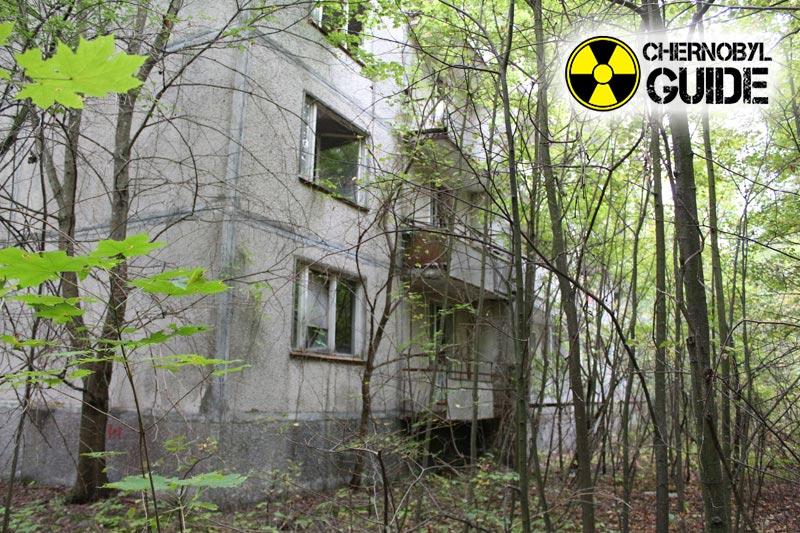 Foto di Pripyat dopo l'incidente al nucleo NPP 1986