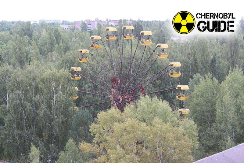 Città di Pripyat nell'ultima foto