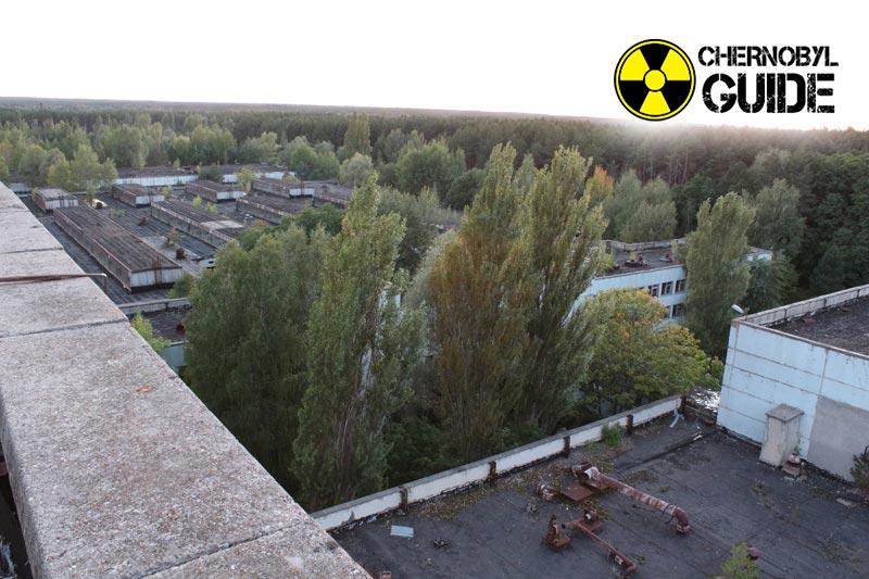 Foto di Pripyat in Ucraina dopo 30 anni