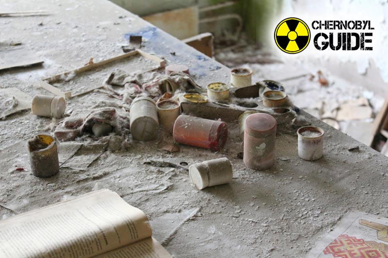 Unique pictures from Chernobyl