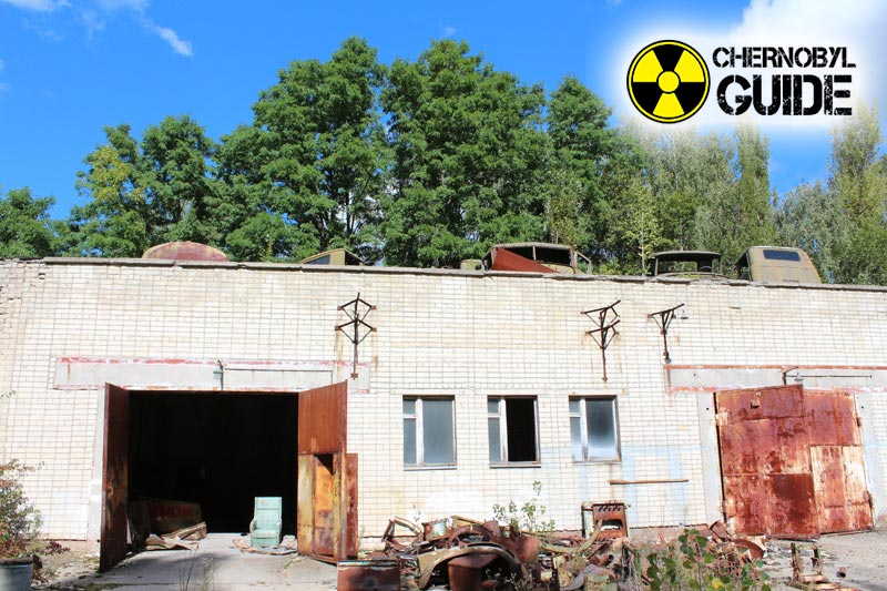 The city of Pripyat on the images of the consequences of the Chernobyl catastrophe
