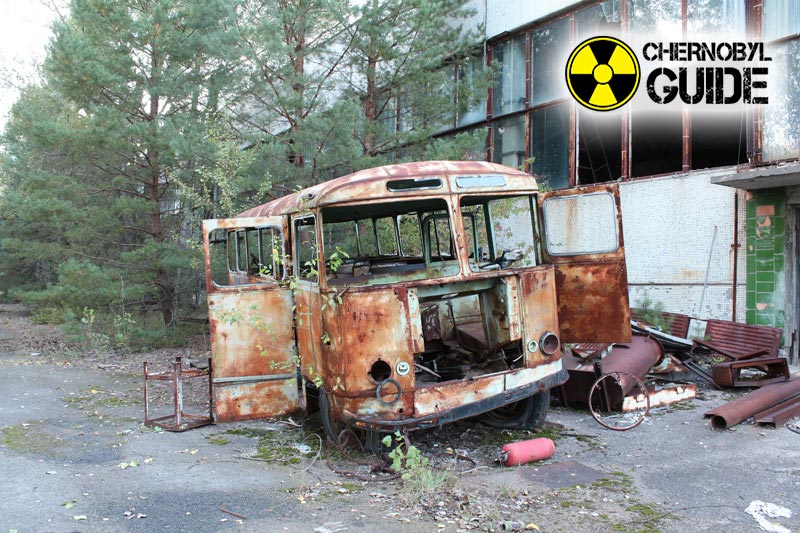 Images of Pripyat after the explosion of the 4th power unit of the nuclear power plant
