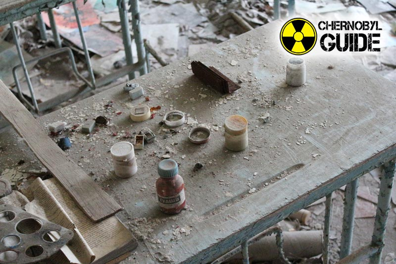 Pripyat in Chernobyl after the disaster in the pictures