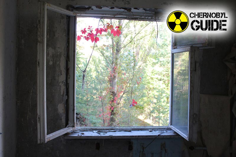 Detailed photos of Pripyat in Ukraine