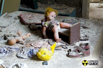 Night in Abandoned Chernobyl
